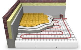 Водяной теплый пол под плитку — сложно, но эффективно
