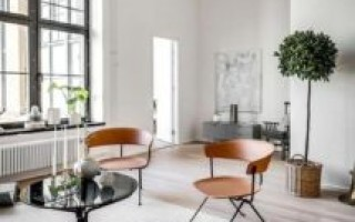 Скандинавский дизайн в интерьере квартиры