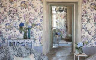 Обои для стен текстильные — незабытое прошлое