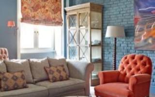 Стиль фьюжн в современной квартире