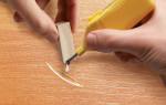 Как правильно устранить царапины на ламинате