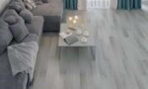 Серый линолеум в интерьере — отличный выбор