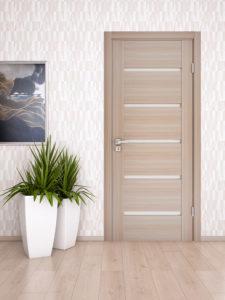 Сочетание ламината и дверей