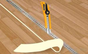Инструменты для линолеума