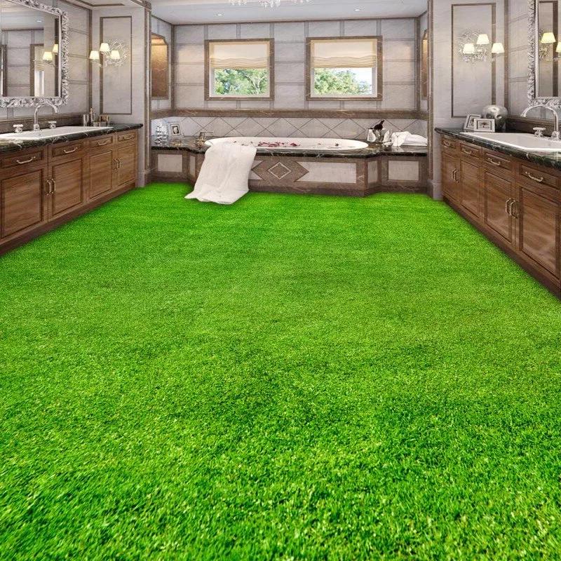 зеленый линолеум