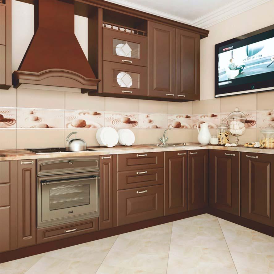 керамогранит в кухне
