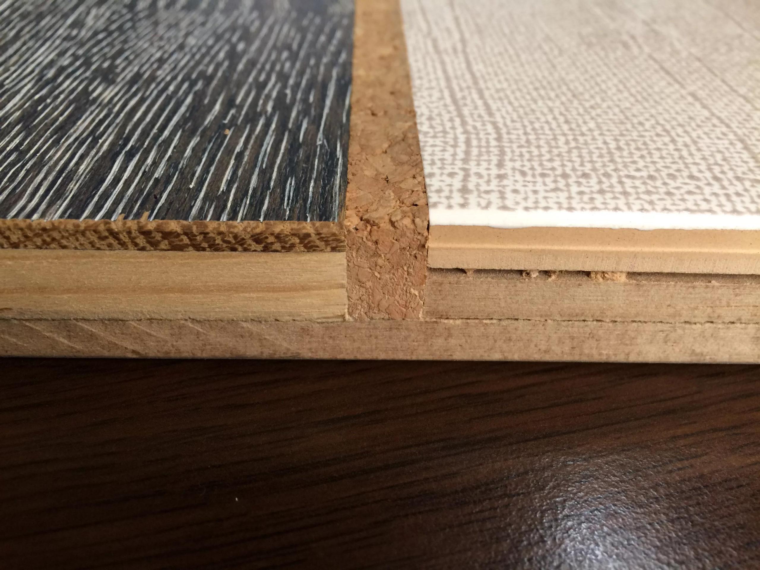 правильный стык плитки и ламината