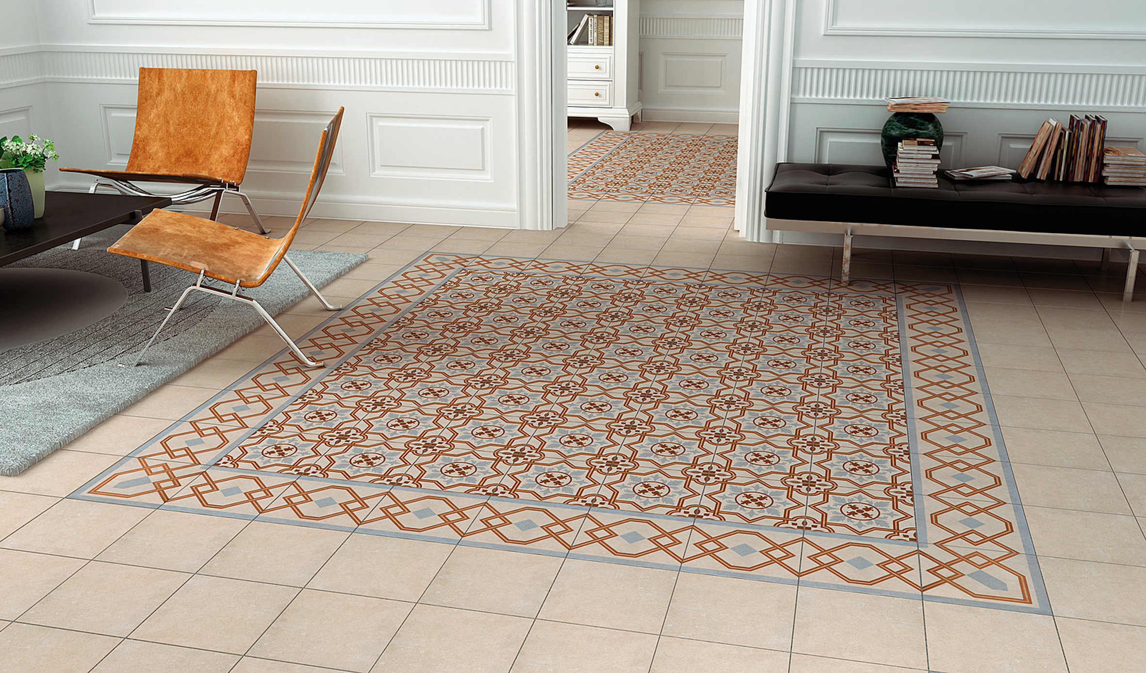 Керамическое покрытие на полу