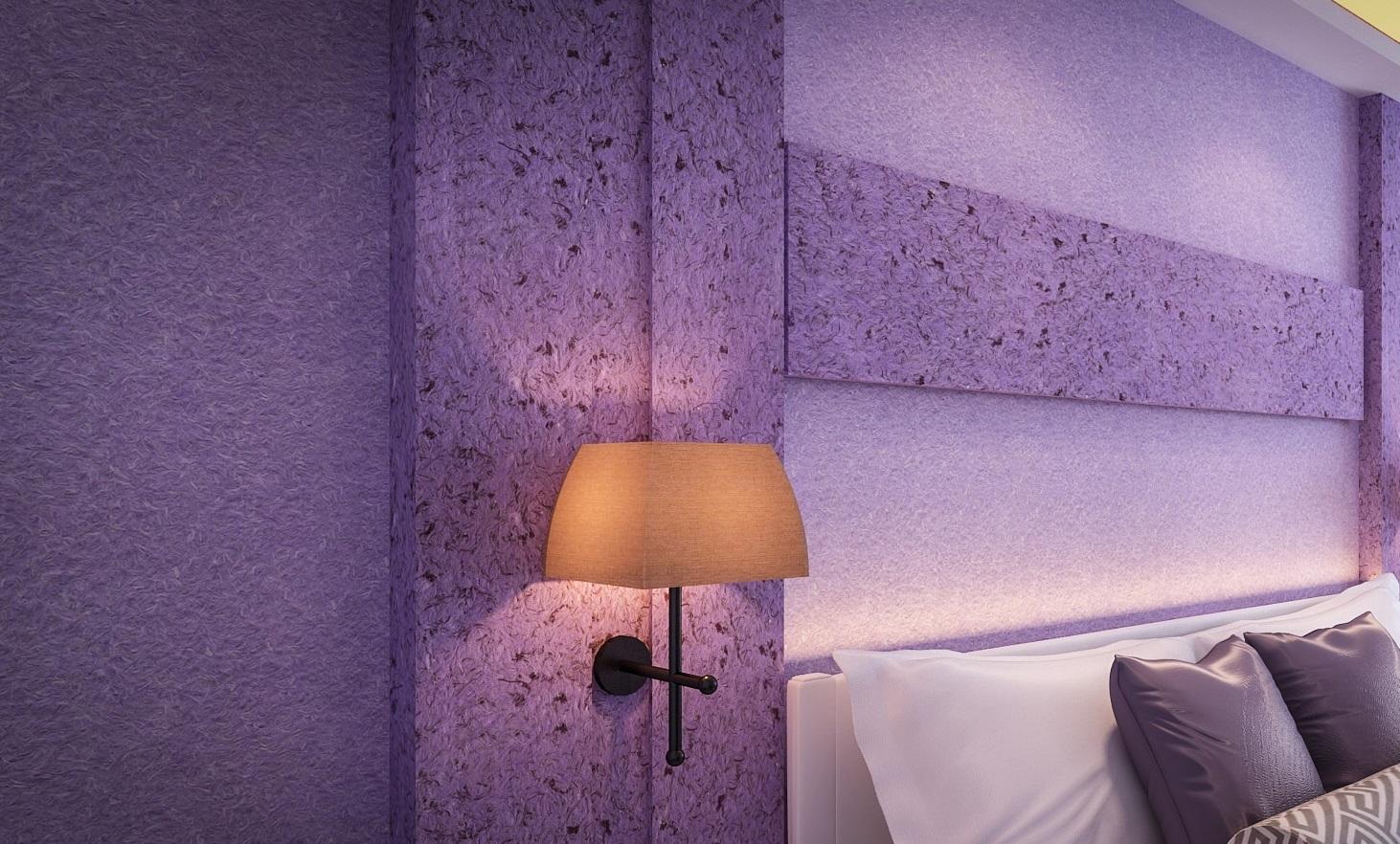Фиолетовые жидкие покрытия
